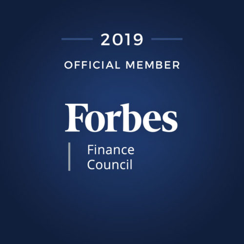 2019 official member of Forbes Finance Council